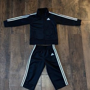 Adidas tracksuit size 24months